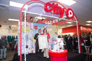 The new City Target Store Open to a Festive Reception of Seventh and Fig.